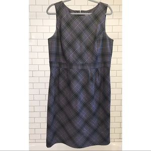 CLASSIC purple-grey cocktail dress, size 16 Merona